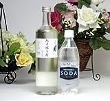 日本酒ハイボールセット(富士の光純米酒720ml 1本+ソーダ水500ml 6本)