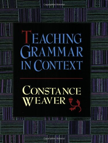 Download Teaching Grammar in Context 0867093757