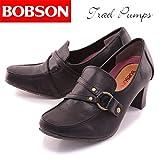 [ボブソン] BOBSON サイドリングトラッドパンプス BO3298 ブラック 23.5センチ