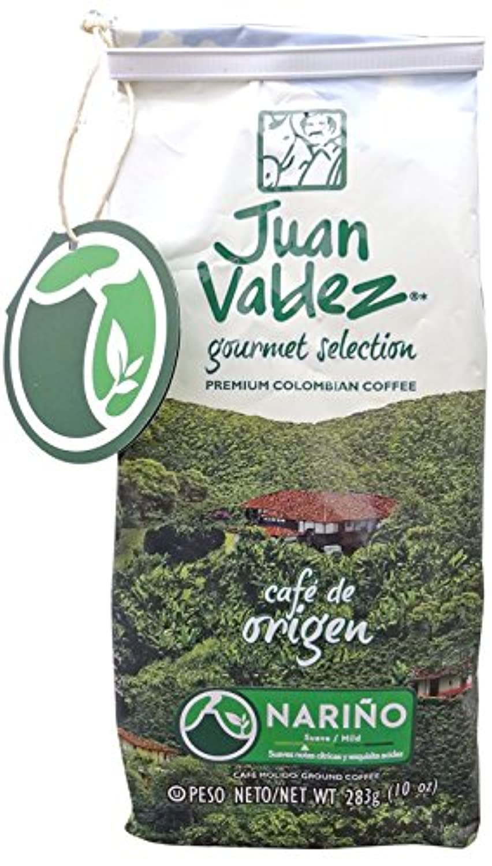 Juan Valdez(フアン?バルデス) コーヒー粉 【ナリーニョ】シングルオリジン < 100%コロンビアコーヒー > 283g 正規輸入品