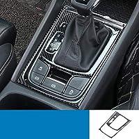カーボンファイバー セントラル コントロール ギア パネル ウインドウ コントロール ステッカー 適用: AL-FF-3777-T004 ギア パネル ステッカー