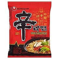 (Nong Shim (ノンシム)) 辛ラーメンの麺120グラム (x2) - Nong Shim Shin Ramyun Noodles 120g (Pack of 2) [並行輸入品]
