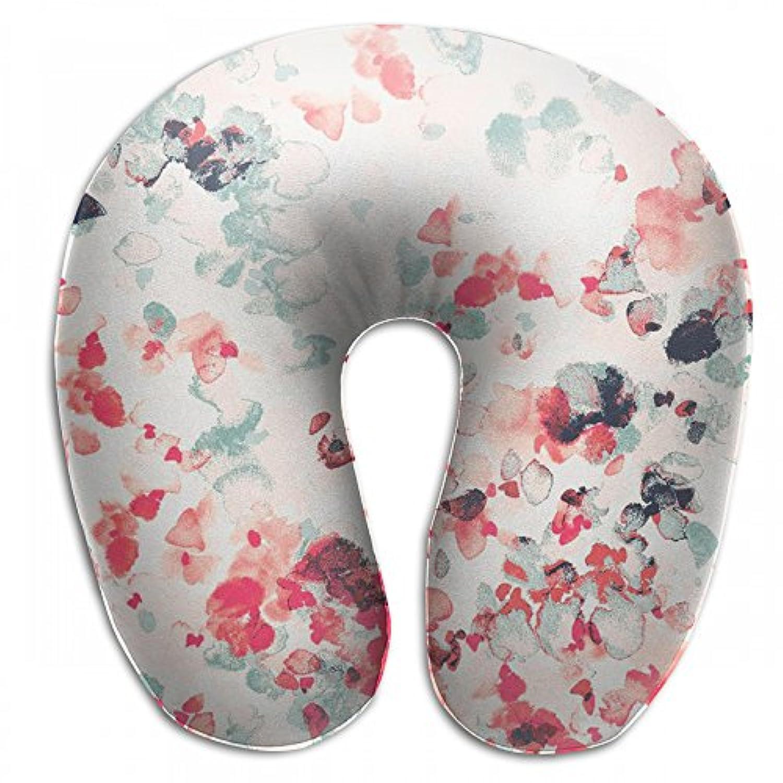 Merlin Quintina 色つき 塗り 抱き枕 U字型クッション 首枕 ネッククッション 旅行ピロー360度快適な睡眠 子宮頸椎 保護 ポータブル