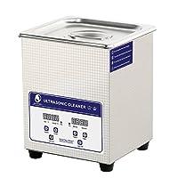 SKYMEN 超音波洗浄機 2L 超音波洗浄器 時間設定|加熱機能 超音波洗浄 入れ歯,メガネ アクセサリー,小型コンポーネント