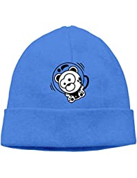 SmokyBird ニットキャップ ニット帽 ビーニー 防寒 ワッチ CAP クマ 萌え 小熊 宇宙飛行士 アメカジ スペース