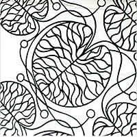 マリメッコ(marimekko) ボットナ BOTTNA 52122-190 コットンファブリック(生地) ブラック (30㎝以上から10cm単位で切り売り、返品不可) 【並行輸入品】
