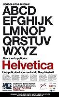Helvetica 11x 17映画ポスター