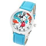 Disney ディズニー 腕時計 ミッキーマウス ライトブルー 限定モデル ディズニーウォッチ レディース キッズ 時計 女性用 男性用 子ども 子供 プレゼント ギフト