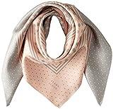 [ビームス デザイン] スカーフ シルク ピンク レディース 50606503A 日本 64cm×64cm (FREE サイズ)