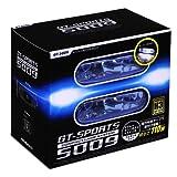 ミラリード(MIRAREED) アシストランプ GTスポーツ スーパーホワイトランプ 110Wクラス リレー ハーネス スイッチ付き GT-5009