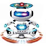 Cisixin おもちゃ ロボット 二足歩行 小型ロボットラジコン おもちゃ 音楽と英語 ロボエース