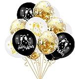 風船セット バルーン 風船 クリスマス ハロウィン パーティーの装飾 誕生日 パーティー ベビーシャワー 結婚式 6個 12インチ (色がランダム)