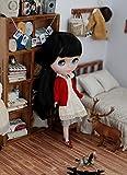 フレッドペリー カーディガン (ドーリア)Dollia ブライス 1/6ドール用 アウトフィット ニット セーター カーディガン 襟付き ネオブライス ドール 人形 (レッド)