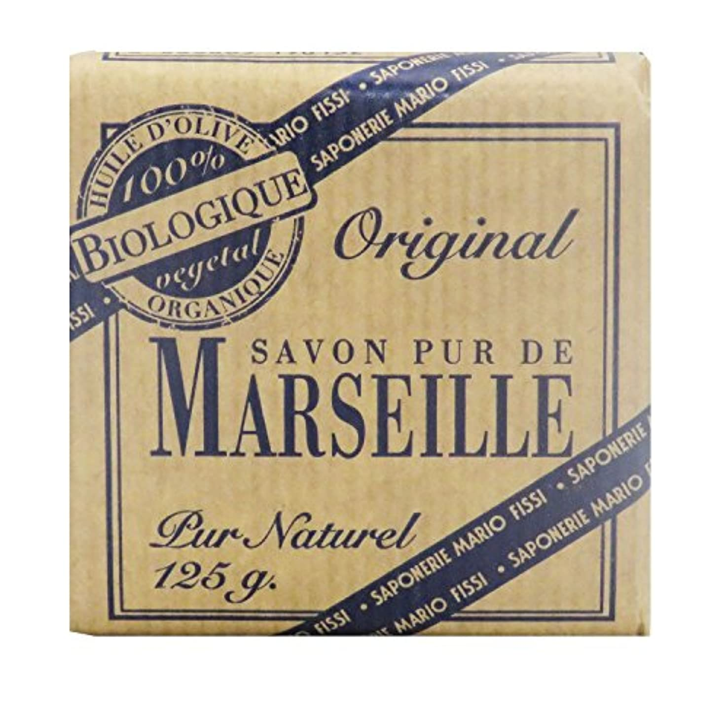 小さい判決耳Saponerire Fissi マルセイユシリーズ マルセイユソープ 125g Original オリジナル