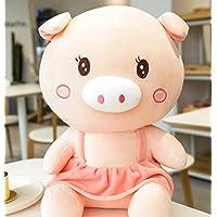 HuaQingPiJu-JP 耐久性のある豚キッズおもちゃソフトぬいぐるみ動物玩具人形クッションピローギフト子供ギフト(ピンク)