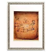 パウル・クレー Paul Klee 「Brauende Hexen」 額装アート作品