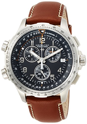 [ハミルトン] 腕時計 カーキ X-ウィンド GMT クロノグラフ H77912535 正規輸入品 ブラウン