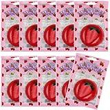 ピュアスマイル ジューシーポイントパッド ストロベリー10パックセット(1パック10枚入 合計100枚)