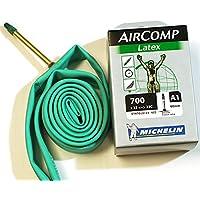 ミシュラン Air Comp エアーコンプ ラテックス チューブ 2本セット 700C 60mm バルブ