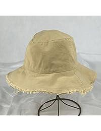 女性の夏の日の帽子はシンプルで、野生の折りたたみ帽 ( 色 : イエロー いえろ゜ )