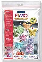 7モチーフの春飾FIMOシリコーン型ステッドラーのためのポリマークレイ、クリスマス装飾金型、食材に対応, 8742 52
