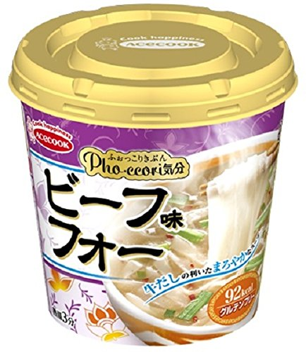エースコック Pho・ccori気分 ビーフ味フォー 24g×6個