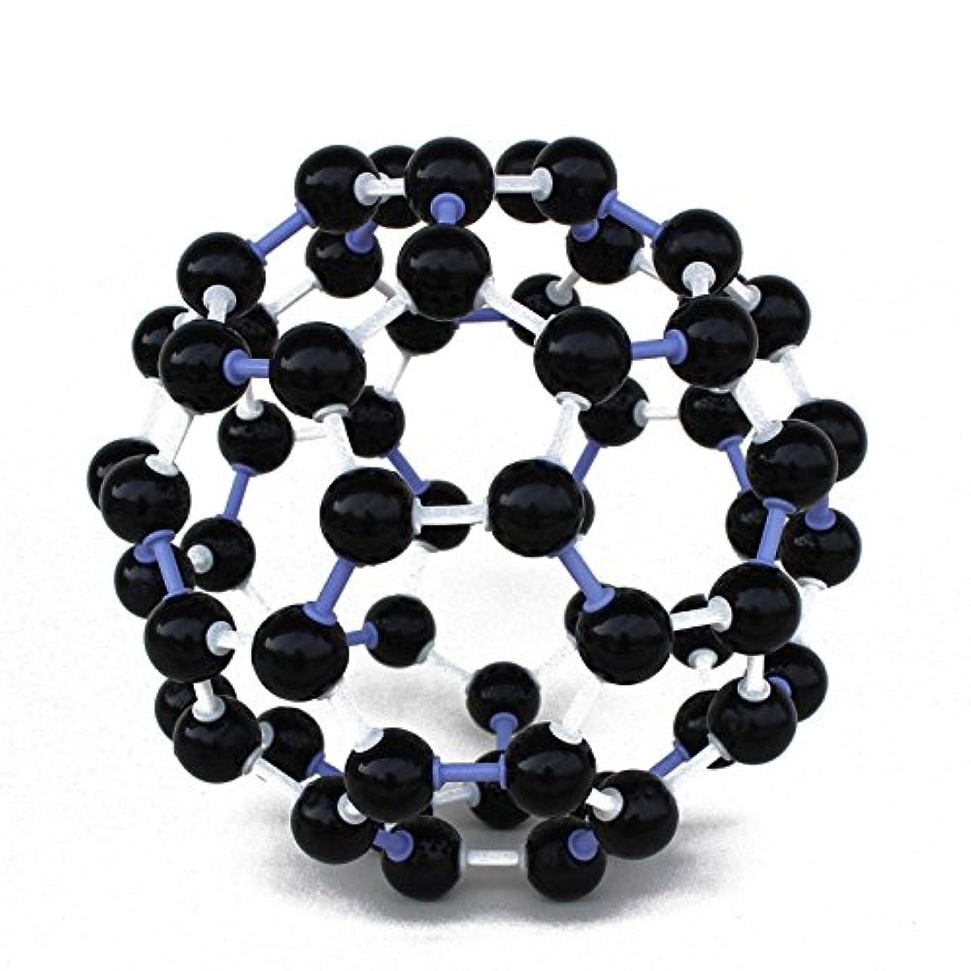 宝調査スペルC60モデル(直径23mm),GOOD lask 23mm化学教育用クリスタルカーボン60 C 60原子分子モデルセット