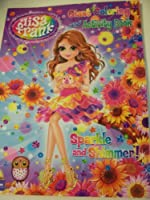 Lisa Frank Giant Coloring and Activity Book ~ Sparkle and Shimmer! (Girl Holding Bunny) (96 Pages) by Modern Publishing [並行輸入品]