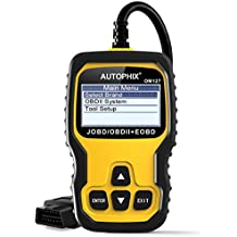 AUTOPHIX OM127 OBD2 Scanner JOBD Car Code Reader Check Engine Light for Japanese Cars Toyota/Mazda/Honda/Nissan