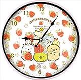 ティーズファクトリー 掛け時計 インデックスウォールクロック すみっコぐらし いちごフェア 4×30×30cm SG-5520257IF