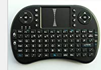 NEXiLUX NXL-UNIKEY00 Mini Wireless Keyboard with Touchpad for PC, Pad, Android, Google TV Box, XBOX360, PS3 & HTPC IPTV [並行輸入品]