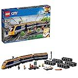 LEGO City Passenger Train Buildingキット( 677ピース)、マルチカラー