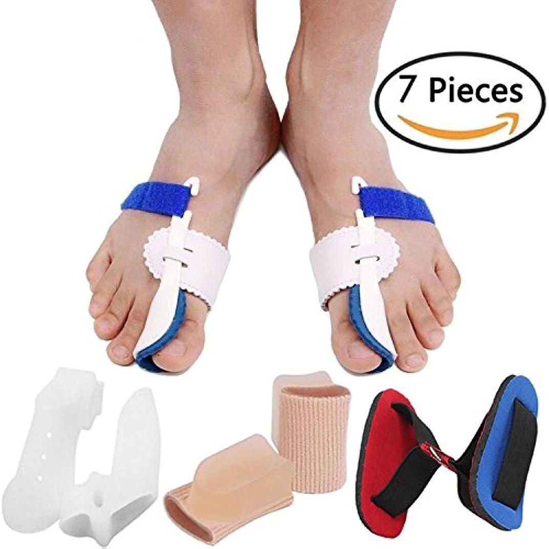 一生ワイド同封するBunion Corrector Bunion Relief Protector Sleeves Kit, Big Toe Corrector Straightener Separator Treat Pain in Hallux...