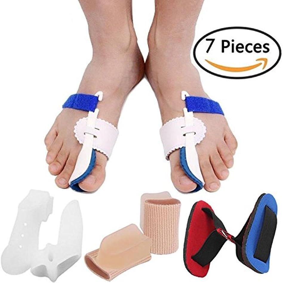 置き場日光メッセンジャーBunion Corrector Bunion Relief Protector Sleeves Kit, Big Toe Corrector Straightener Separator Treat Pain in Hallux...