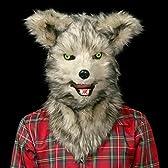 《喋ると口が動く!?》 アニマルしゃべれマスク(ウルフ) 超リアルな動物マスク コスプレ コスチューム 仮装 衣装 おもしろ パーティーグッズ