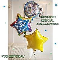 可愛くてセンスがいいと評判のバルーンギフト! お誕生日やファーストバースデーに男の子に大人気トイストーリーの3バルーンパフェ?