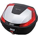 GIVI(ジビ) モノロックケース(トップケース) シルバー 汎用ベース付き 37L B37G730 78035