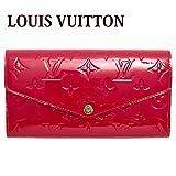 (ルイヴィトン) LOUIS VUITTON 長財布 モノグラム ヴェルニ ポルトフォイユ・サラ スリーズ M90208