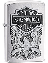 ZIPPO(ジッポー) Harley-Davidson Eagle Wings (ハレー ダビットソン イーグル) ライター 日本未発売 200HD.H284 Brushed Chrome [並行輸入品]