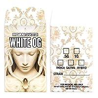 プレミアム粉砕ラベルホワイトog Concentrateパッケージ抽出封筒# 100 500 ホワイト