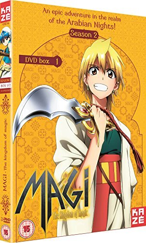 Magi The Kingdom of Magic Season 2 Part 1 [DVD] by Ryouhei Kimura