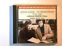 John Cage...In Memoriam / 4 Walls by Joshua Pierce