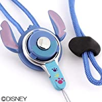 HandLinker ハンドリンカー Disney ディズニー キャラクター モバイル 携帯ストラップ ネックストラップ 落下防止 / スティッチ