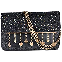 Nite closet Sequin Fashion Purse Rainbow Crossbody Glitter Wallet Shoulder Bag
