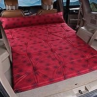 GYP 自動インフレータブルベッドSuvの車のベッド、厚い折り畳み屋外レジャー寝るマット休暇旅行ベッドのマットキャンプキャンプ防湿パッドの自動車用品ポータブル195 * 140センチメートル ( 色 : #3 )