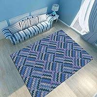 カーペット ラグ 北欧デザイン 幾何 抽象 かわいい 洗える ふわふわ オールシーズン 床暖房対応 掃除易い 低反発 滑り止め 防ダニ 抗菌 防臭 長方形 畳 居間用 絨毯 おしゃれ (180*280CM)