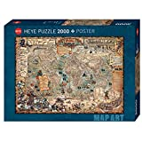 Pirate World Puzzle 2000 Teile