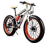 Cyrusher RT-012 FATBIKE 17×26インチ マウンテンバイク アルミフレーム電動自転車シマノ7段変速