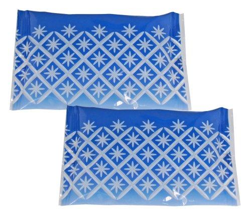 Pocket Cool 手のひらサイズの保冷剤 KIRIKO花 2個セット