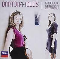 Bartok: 44 Duos by DEBORAH & SARAH NEMTANU